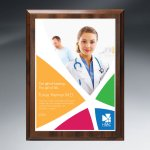 Choice of Digi-Color Plate on Economy Board Employee Awards