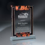 Large Digi-Color Lucite Award Sales Awards