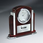 Rosewood Piano Finish and Aluminum Clock Sales Awards