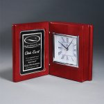 Rosewood Piano Book Clock Sales Awards
